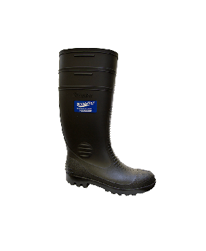 Blundstone Men's or Womens General Purpose Gumboots #Style 001 (Black)