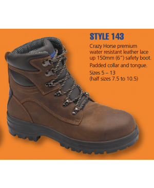 Blundstone X-Foot Premium Safety Boots - Style 143