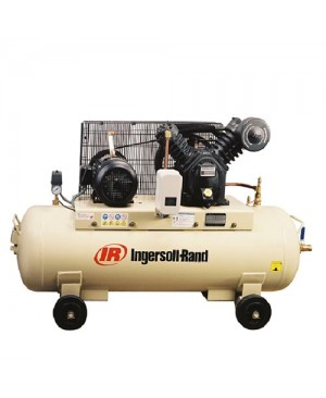 Ingersoll Rand 3hp Ingersoll Rand 2-Stage Electrical Air Compressor, 9.8cfm, 8bar