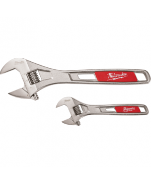 Adjustable Wrench 250mm & 150mm 2pk