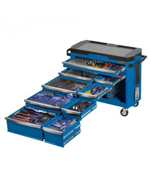 """kincrome Tools Only - Contour® Tool Trolley 484 Piece 1/4, 3/8 & 1/2"""" Square Drive"""