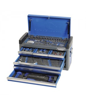 """Kincrome Tools Only - Contour® Tool Chest 236 Piece 1/4, 3/8 & 1/2"""" Square Drive"""
