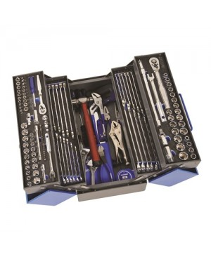 """Kincrome Tools Only - Cantilever Tool Kit 163 Piece 1/4, 3/8 & 1/2"""" Square Drive"""
