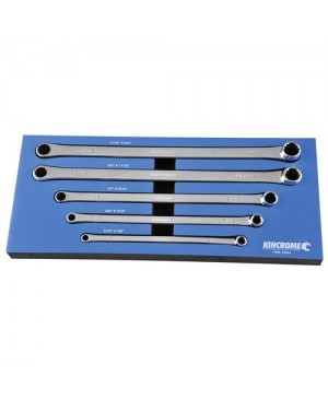 Kincrome Double Ring Spanner Set 0 Degree Offset