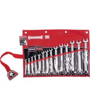Sidchrome 14 Piece Ring & Open End Spanner Set – Metric