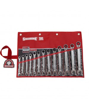 Sidchrome 13 Piece Pro Series Geared Spanners Set – AF