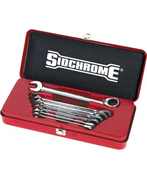 Sidchrome 7 Piece Pro Series Geared Spanners Set – AF