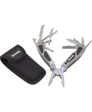 Sidchrome 15 in 1 Multi-Function Tool with LED Light